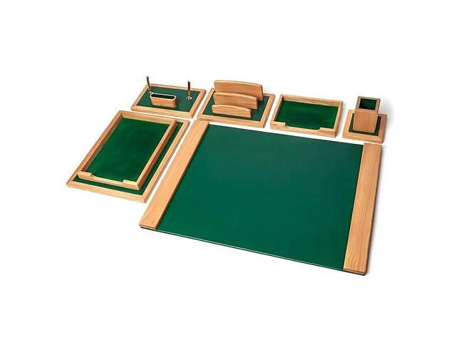 бу Элитный настольный набор для руководителя BST 80005 70*50 см зелёный Зелёная Долина в Одессе