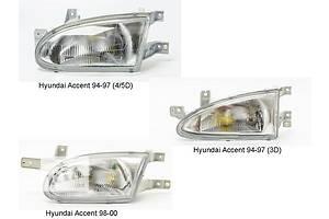 Новые Фары Hyundai Accent