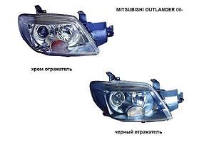 Новые Фары Mitsubishi Outlander