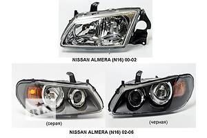 Новые Фары Nissan Almera