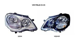 Новые Фары Volkswagen Polo