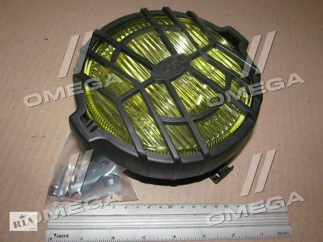 продам Фара противотуманная рабочая круглая с решеткой, желтая, 12В, 178х141,5х76,2 (Руслан-Комплект) бу в Харькове