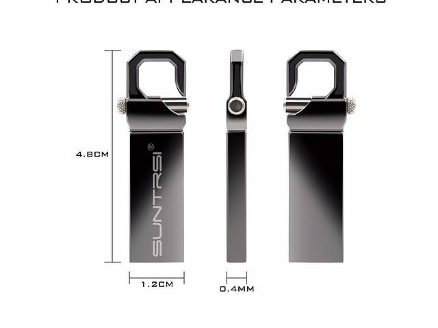 Флешка-карабин Suntrsi USB2.0 16 GB металл- объявление о продаже  в Мариуполе (Донецкой обл.)