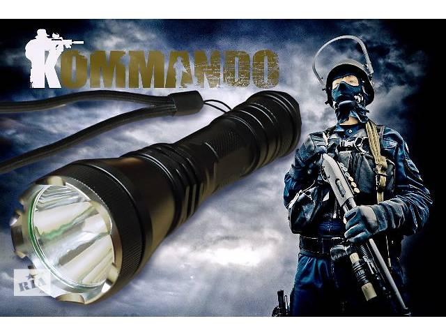 Фонарь Comando аналог Nitecore Fenix Skyray Convoy акк18650 ліхтар фонарік- объявление о продаже  в Ивано-Франковске