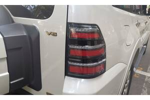 Фонари Mitsubishi Pajero Wagon 4 фонарь тюнинг Led оптика паджеро