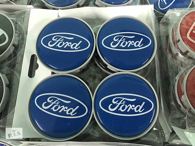 продам Ford Kuga 2013↗/2016↗ гг. Колпачки в титановые диски 55 мм V4 (4 шт) бу в Чернівцях