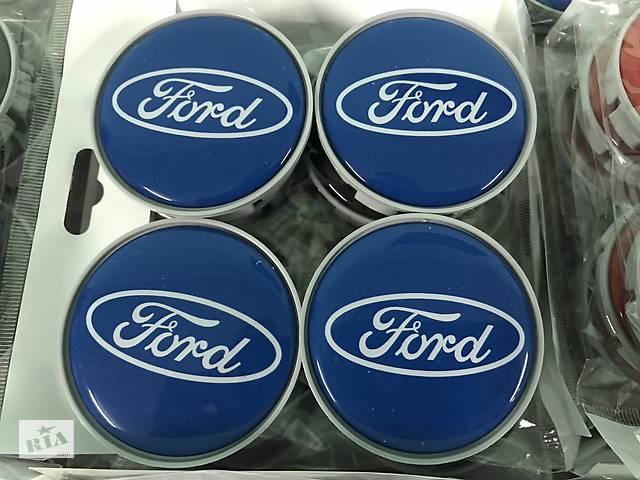 купить бу Ford Kuga 2013-2019 гг. Колпачки в титановые диски 55 мм V5 (4 шт) в Чернівцях