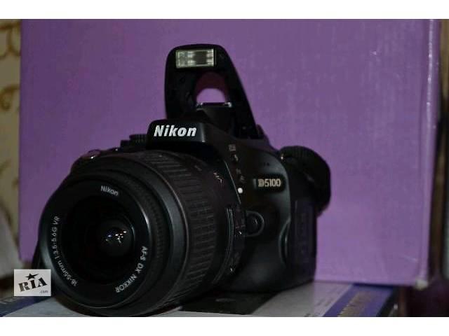бу Фотоаппарат Nikon D5100 в Тернополе