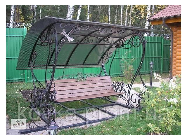 купить бу Качеля садовая кованая в Ладыжине