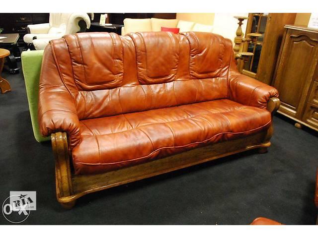 бу Классический кожаный диван - ROMA 670$ Суперакция! Польша. в Луцке