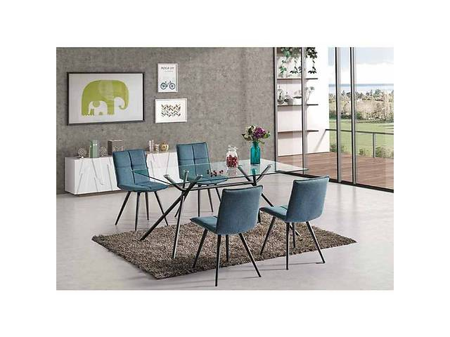 продам Комплект мебели стол Nevio 160x90 + 4 кресла Dario Signal бу в Львове