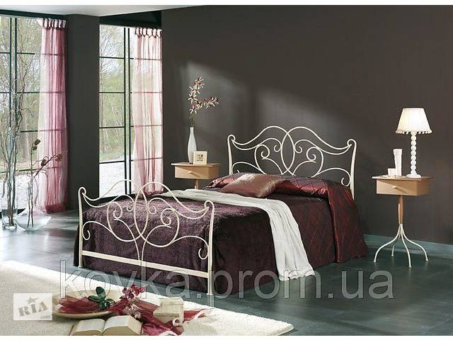 бу Кованая двухспальная кровать в Ладижині