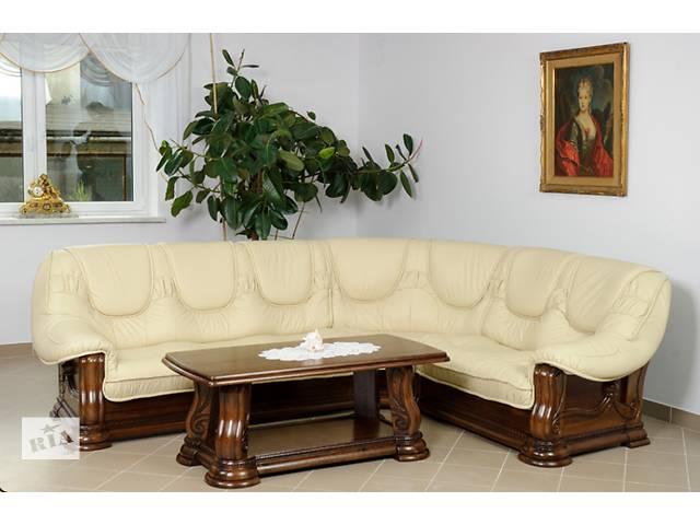 продам Кожаный угловой диван Гризли 3х2/310х250см.  Большой выбор кожи. Кожаная мебель, гарнитур, уголок. бу в Луцке