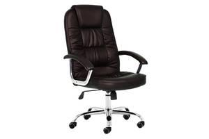 Кресло офисное NEO9947 темно-коричневое