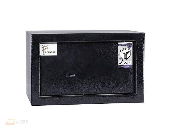 бу Мебельный сейф Ferocon ЕС-20К.9005, 320x200x260, 10 кг в Івано-Франківську