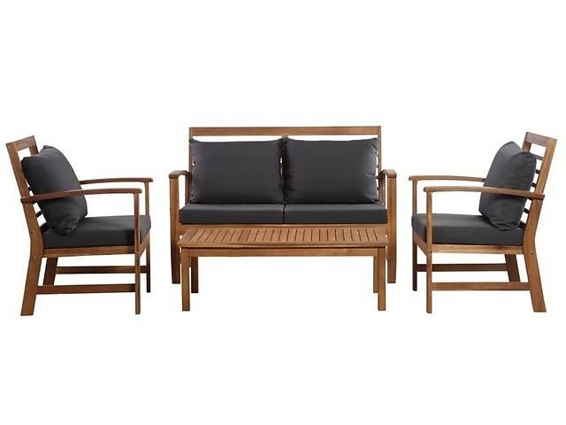 купить бу Набор мебели для сада, диван 2 кресла + кофейный столик, дерево акация в Львове