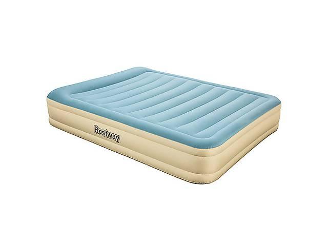 Надувной матрас-кровать Bestway 69007 Велюр 203х152х36см- объявление о продаже   в Украине