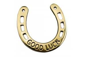 Подкова бронзовая Good Luck 10.5х10.5 см (DN24456)