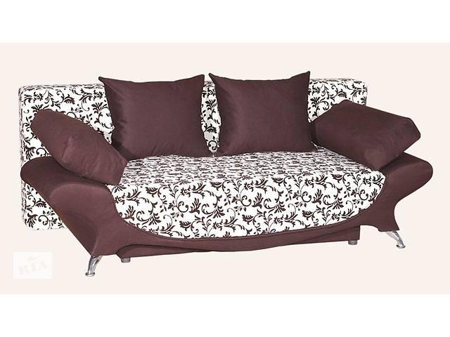 Прямой диван Sky Soft Ника 200 см Коричневый- объявление о продаже  в Киеве