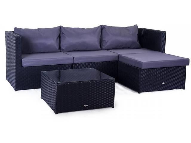 продам Садовый комплект мебели черный Farlito V Black Along & Ice Grey бу в Львове