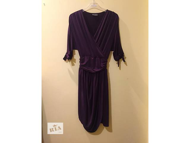 фиолетовое платье- объявление о продаже  в Ивано-Франковске
