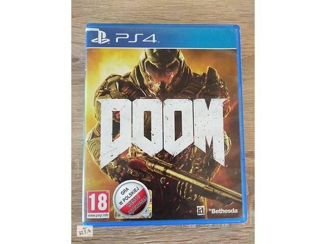 продам DOOM PS4 бу в Полтаві