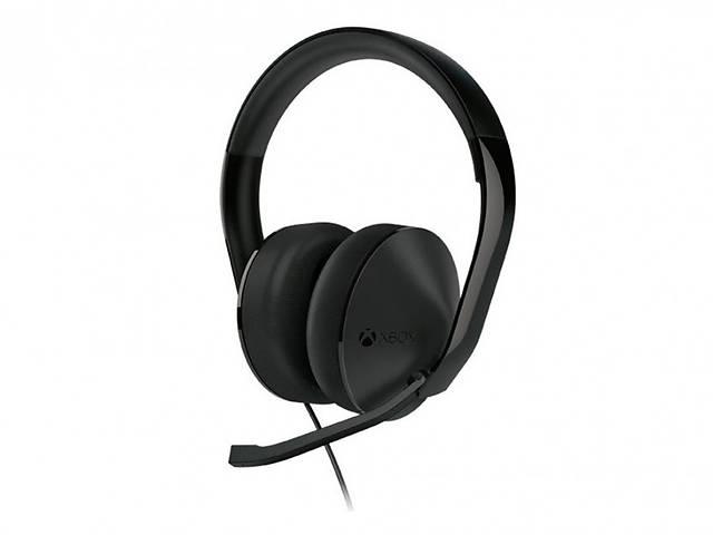 купить бу Наушники Microsoft Xbox One Stereo Headset Black (S4V-00013) в Харькове