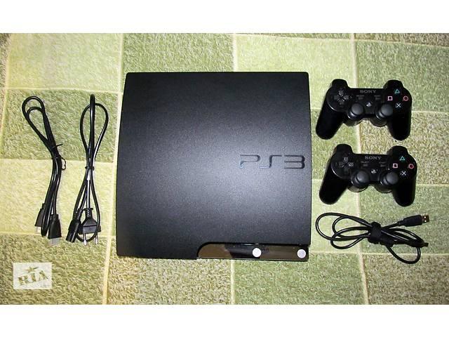 продам Sony PlayStation 3 Slim 250 Gb + два контролера бу в Хмельницком