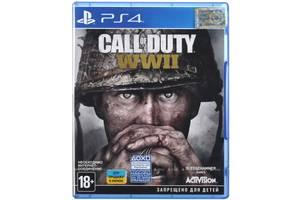 Игра Call of Duty WWII (PS4,Русскаяверсия)