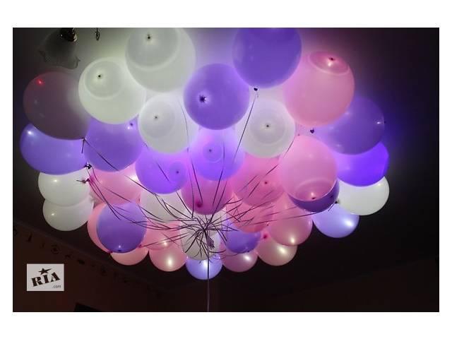 бу Гелиевые шары, шарики на праздник, летающие шары, шары с гелием в Черкассах