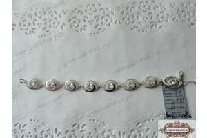 Новые Мужские браслеты из серебра
