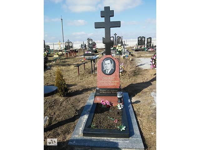 бу Гранитные  кресты на могилу, подкрестник, памятники Коростышев, гранит, габбро, лабрадорит, мрамор, анортозит в Коростышеве