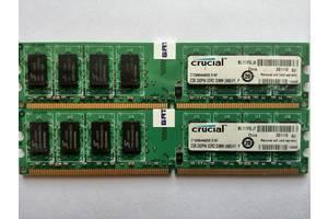 б/у Модули памяти Crucial