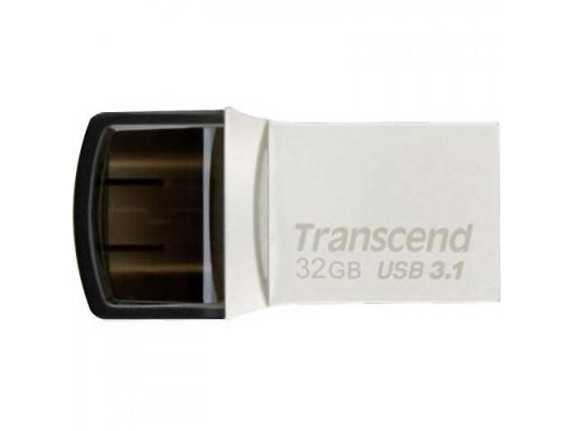 Флешка Transcend 32GB JetFlash 890S Silver USB 3.1 (TS32GJF890S)