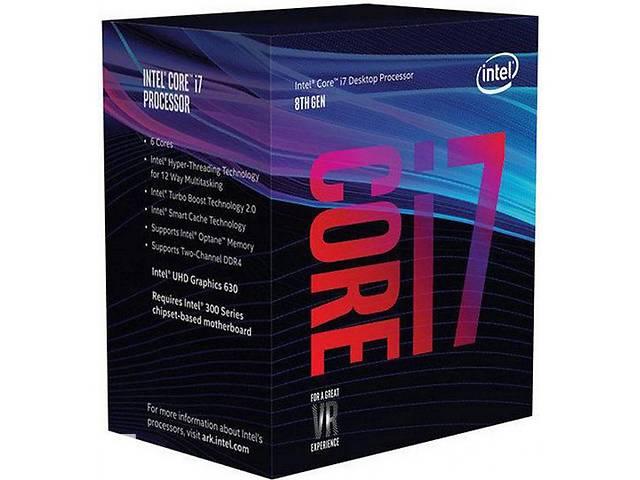 Процессор Intel Core i7 8700 3.2GHz (12MB, Coffee Lake, 65W, S1151) Box (BX80684I78700)- объявление о продаже  в Киеве