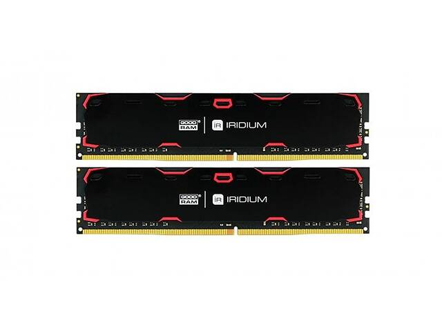 продам Модуль DDR4 2x8GB/2400 GOODRAM Iridium Black (IR-2400D464L15S/16GDC) бу в Харькове