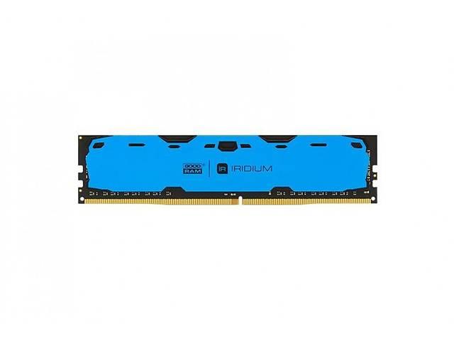 продам Модуль DDR4 8GB/2400 GOODRAM Iridium Blue (IR-B2400D464L15S/8G) бу в Харькове