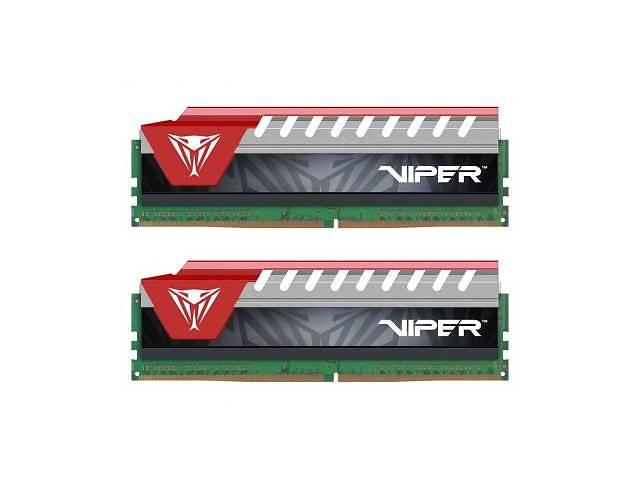 бу Модуль памяти для компьютера DDR4 8GB (2x4GB) 2800 MHz Viper Elite Red Patriot (PVE48G280C6KRD) в Дубно (Ровенской обл.)