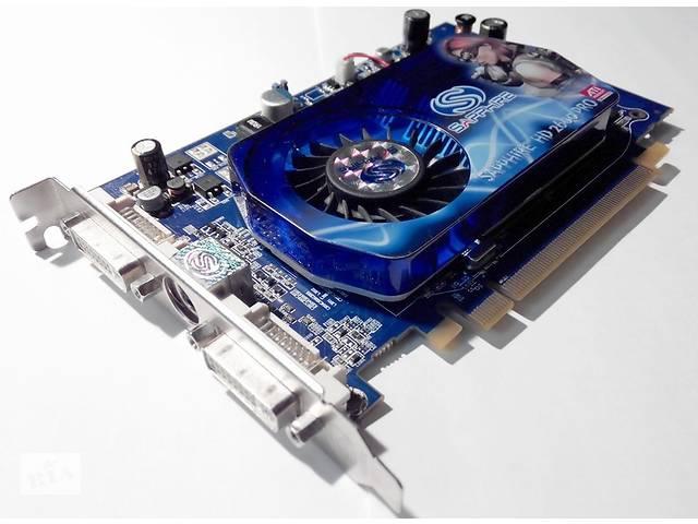 купить бу Продаю видеокарту ATi Radeon HD2600Pro (Sapphire)/PCi-E/512МB GDDR2/128bit/2xDVI/TVO в Киеве