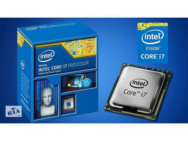 купить бу Процессор intel core i7 4790k LGA1150. Состояние отличное!!! в Ровно