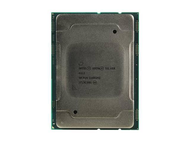 продам Процессор серверный INTEL Xeon Silver 4112 4C/8T/2.60 GHz/8.25M/FCLGA3647 Tray (CD8067303562100) бу в Киеве