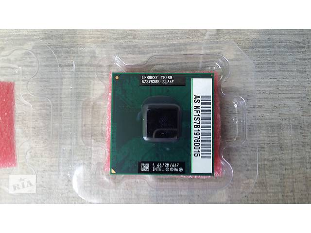 бу Процессор CPU Intel T5450 1,66ГГц 667Мгц 2Мб Cashe для ноутбука в Киеве