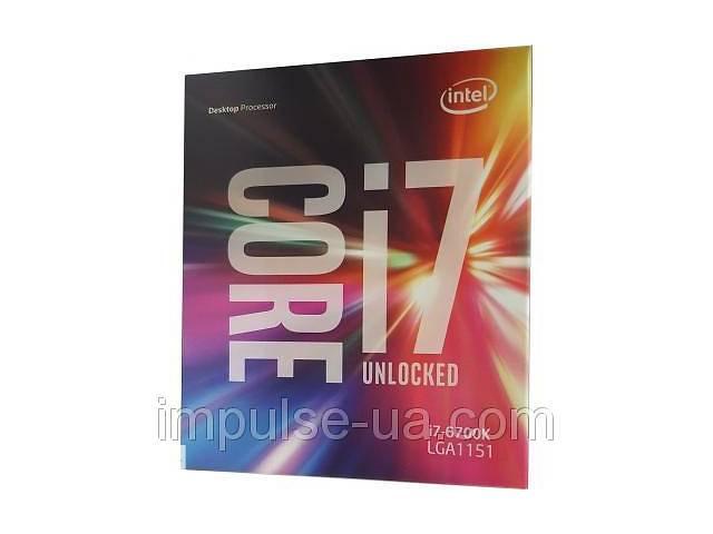 Процессор INTEL Core™ i7 6700K (BX80662I76700K)- объявление о продаже  в Дружковке