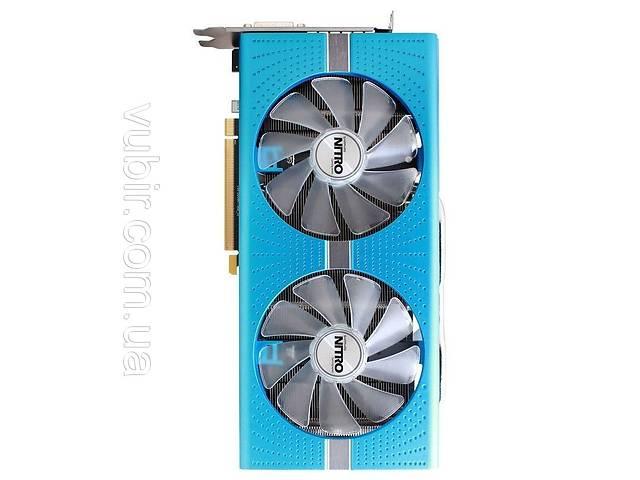Sapphire Radeon RX 580 8GD5 Special Edition METAL BLUE NITRO+ (11265-21)