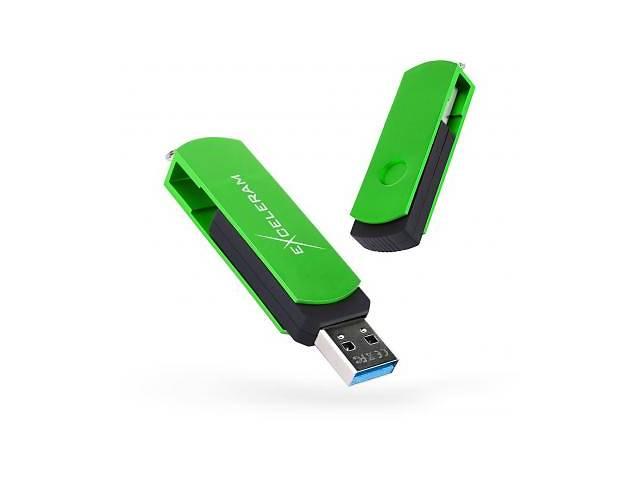 купить бу USB флеш накопитель eXceleram 128GB P2 Series Green/Black USB 3.1 Gen 1 (EXP2U3GRB128) в Киеве