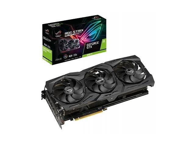 Видеокарта ASUS GeForce GTX1660 Ti 6144Mb ROG STRIX GAMING (ROG-STRIX-GTX1660TI-6G-GAMING)- объявление о продаже  в Києві