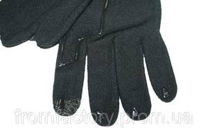 Перчатки для сенсорного экрана Decathlon (разные размеры) черные:Размер M