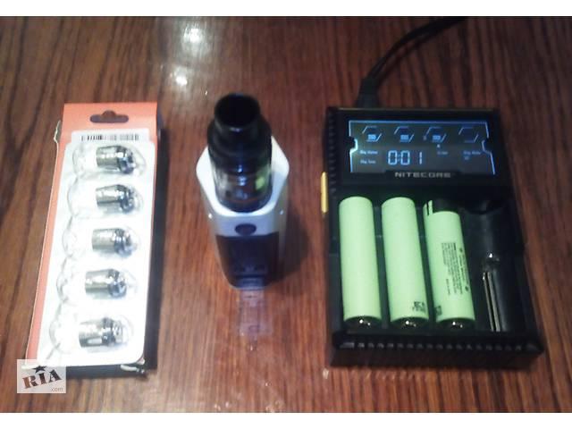 Электронная сигарета RX200S + 3 аккумулятора + зарядка + 5 шт. smok TF