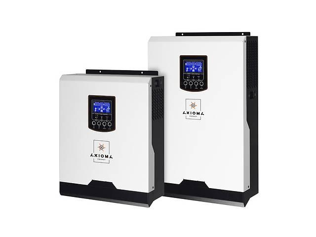продам Гібридний ДБЖ 3000ВА/3000Вт, 24В + МППТ контролер 40А, ISMPPT 3000, AXIOMA energy бу в Дубні