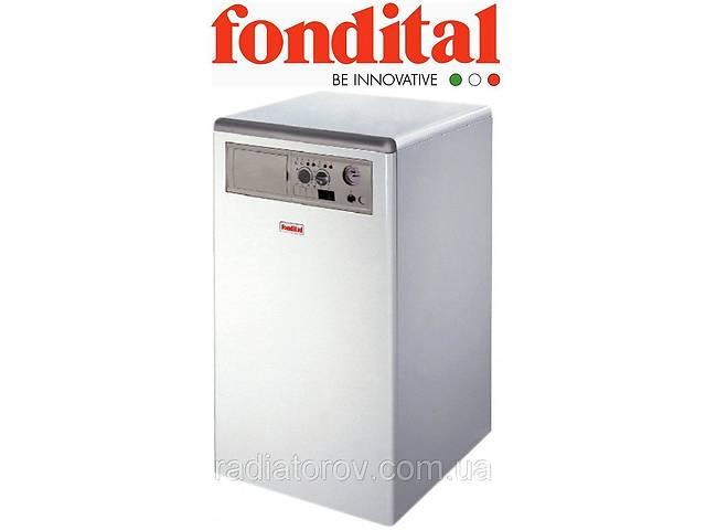 бу Напольный чугунный газовый котел Fondital Bali RTN 90 E одноконтурный, дымоходный (Италия) в Одессе